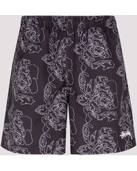 Stussy Roses Print Water Shorts - Multicolour