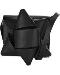 MM6 by Maison Martin Margiela Star Crossbody Bag - Black