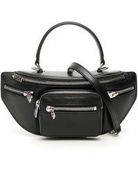 Alexander Wang Attica Top Handle Crossbody Bag - Black