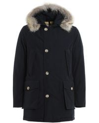 Woolrich Arctic Hooded Parka - Blue