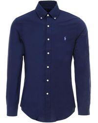 Polo Ralph Lauren Slim-fit Shirt - Blue