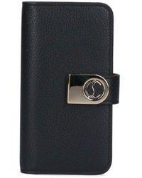 Christian Louboutin Elisa Iphone 11 Pro Flap Case - Black