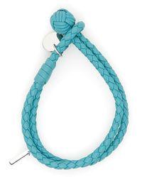 Bottega Veneta - Woven Nappa Bracelet - Lyst