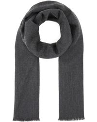 Gucci Knitted Scarf - Grey