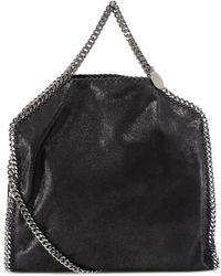 Stella McCartney Falabella Fold Over Tote Bag - Black