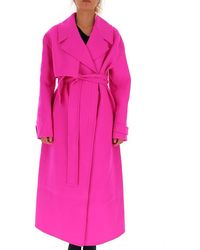 Jacquemus Sabe Trench Coat - Pink