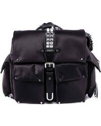 MICHAEL Michael Kors Olivia Studded Backpack - Black