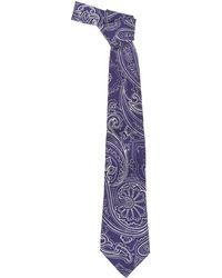Etro Other Materials Tie - Blue