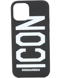 DSquared² Iphone 12 Pro Cover - Black