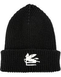 Etro Wool Hat - Black