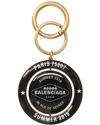 Balenciaga Casino Heart Keyring - Multicolor
