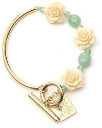Prada Rose Bracelet - Metallic