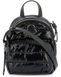 Moncler Kilia Small Quilted Crossbody Bag - Black