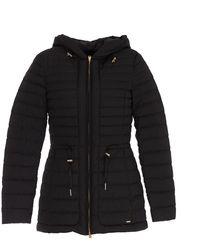 Woolrich Zip-up Hooded Jacket - Black