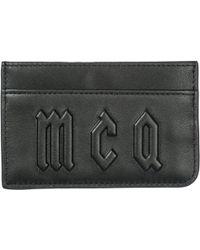 McQ - Embossed Cardholder - Lyst