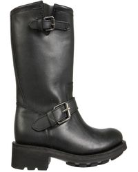 Ash Other Materials Boots - Black
