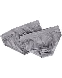 Dolce & Gabbana Two Pack Briefs - Gray