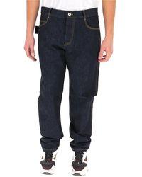 Bottega Veneta Straight Denim Jeans - Blue