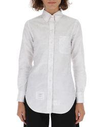 Thom Browne - Button Down Shirt - Lyst