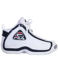 Fila Grant Hill High-top Trainers - White