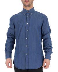 Brunello Cucinelli Buttoned-up Denim Shirt - Blue