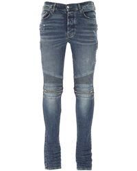 Amiri Mx2 Slim Fit Jeans - Blue