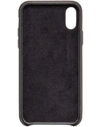 DSquared² Logo Print Iphonex Case - Black
