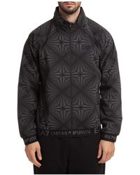 Emporio Armani Ea7 Ventus 7 Zipped Jacket - Black