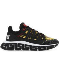Versace Multicolour Trigreca Sneakers Nd Uomo - Black
