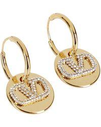 Valentino - Vlogo Signature Earrings - Lyst