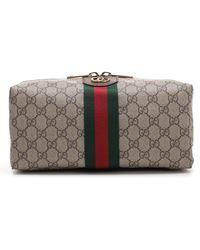 Gucci Ophidia Gg Supreme Wash Bag - Multicolour