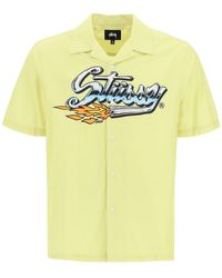 Stussy Cruising Shirt - Yellow