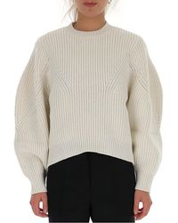 Givenchy Oversized Knitted Jumper - White