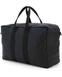 Alexander McQueen Logo Graffiti Duffle Bag - Black