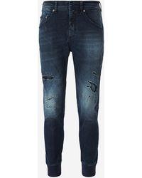 Neil Barrett Slim Fit Jeans - Blue