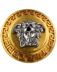 Versace Medusa Head Ring - Metallic