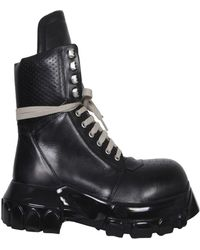 Rick Owens Tractor Dunk Boots - Black