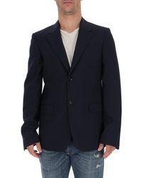 Marni Single Breasted Blazer - Blue