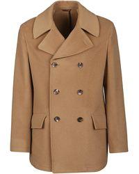 Etro Beige Coat - Brown