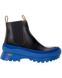 Jil Sander X Vibram Chelsea Boots - Black