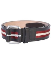 Bally Balley Tianis Buckle Belt - Multicolour