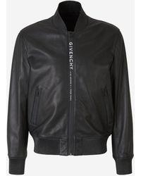Givenchy Adress Leather Jacket - Black