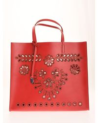 RED Valentino Redvalentino Embroidered Tote Bag
