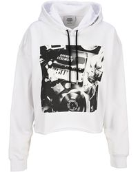 Opening Ceremony Graphic Printed Hoodie - White