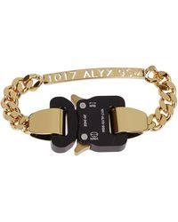 1017 ALYX 9SM Buckle Chain Bracelet - Metallic