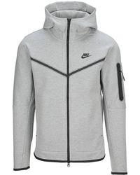 Nike Tech Fleece Full-zip Jacket - Grey