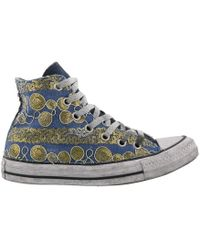 Converse - Chuck Taylor Sequin Embellished High Top Trainers - Lyst