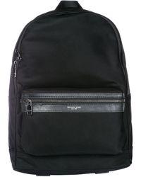 Michael Kors Nylon Rucksack Backpack Travel Kent - Black