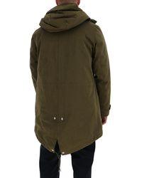 C.P. Company Zip-up Padded Coat - Green