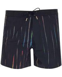 Saint Laurent Swim Shorts Black